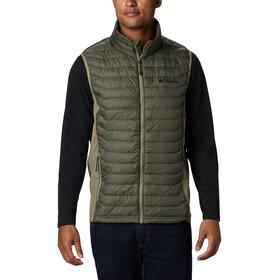 Columbia Powder Pass Vest Men, new olive heather